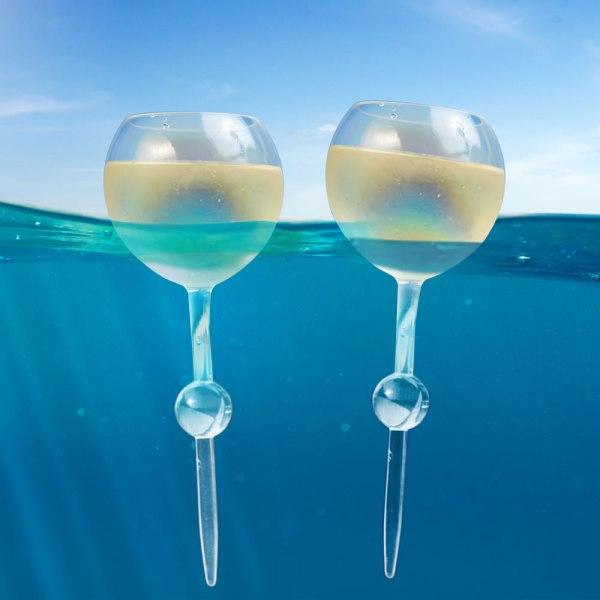 Floating And Beach Wine Glasses - Hammacher Schlemmer