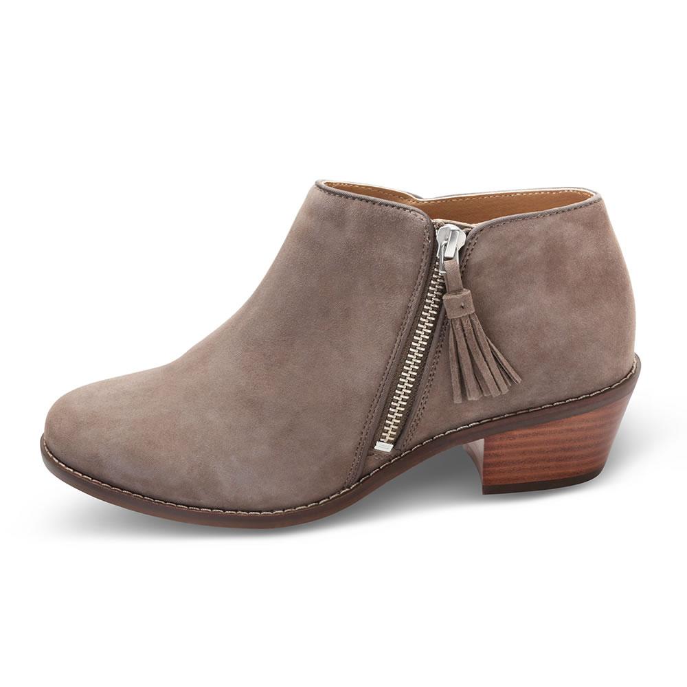 The Plantar Fasciitis Ankle Boots - Hammacher Schlemmer