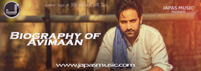 biography of punjabi singer avimaan