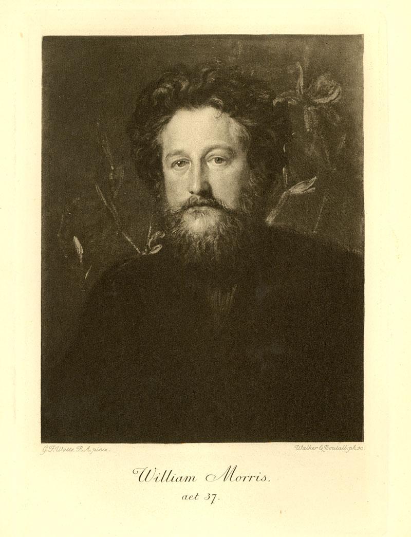 Watts painting of William Morris