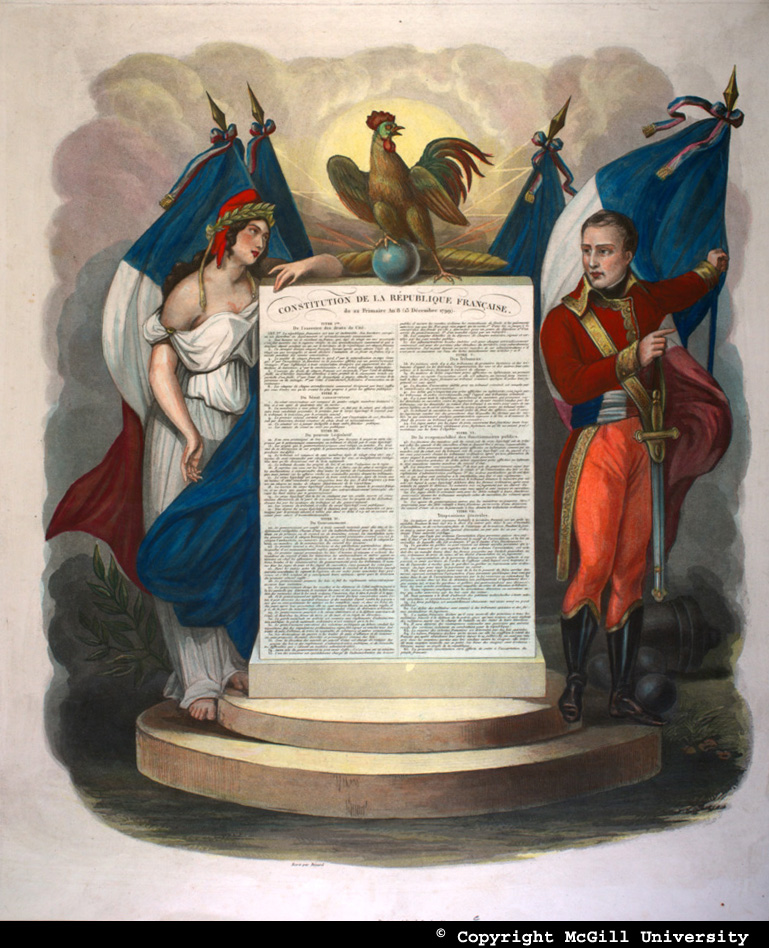 Constitution Du 22 Frimaire An Viii : constitution, frimaire, McGill, Books, Special, Collections, Modernité, Platitudes:, James, Gilray, Contemporaries