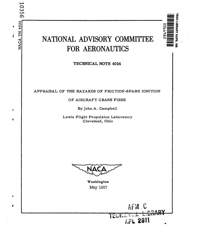 appraisal of the hazards