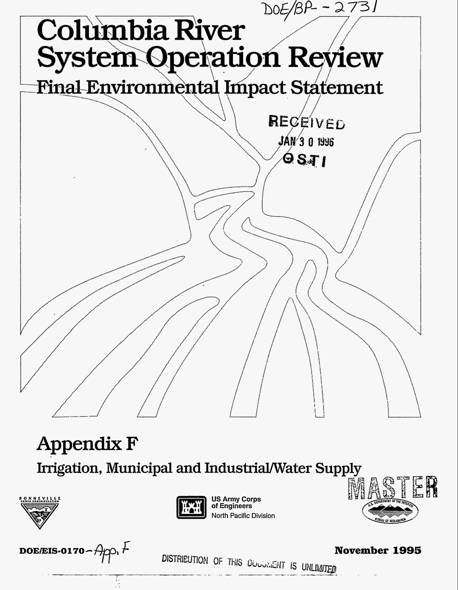 Columbia River System Operation Review : Final