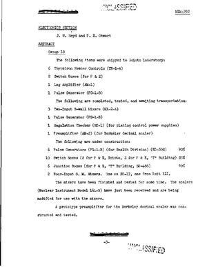 Electronics Accomplishment Report - Digital Library