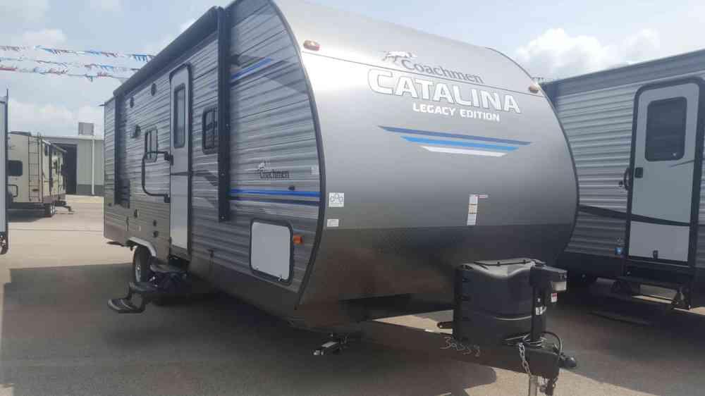medium resolution of new 2019 coachmen catalina 243rbsle american rv