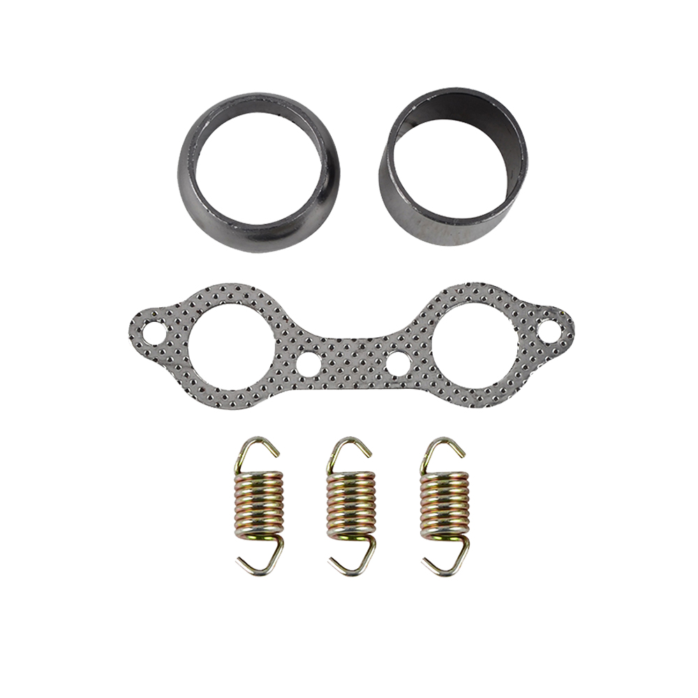 For Polaris RZR S 800 Exhaust Muffler Pipe Gasket & Spring