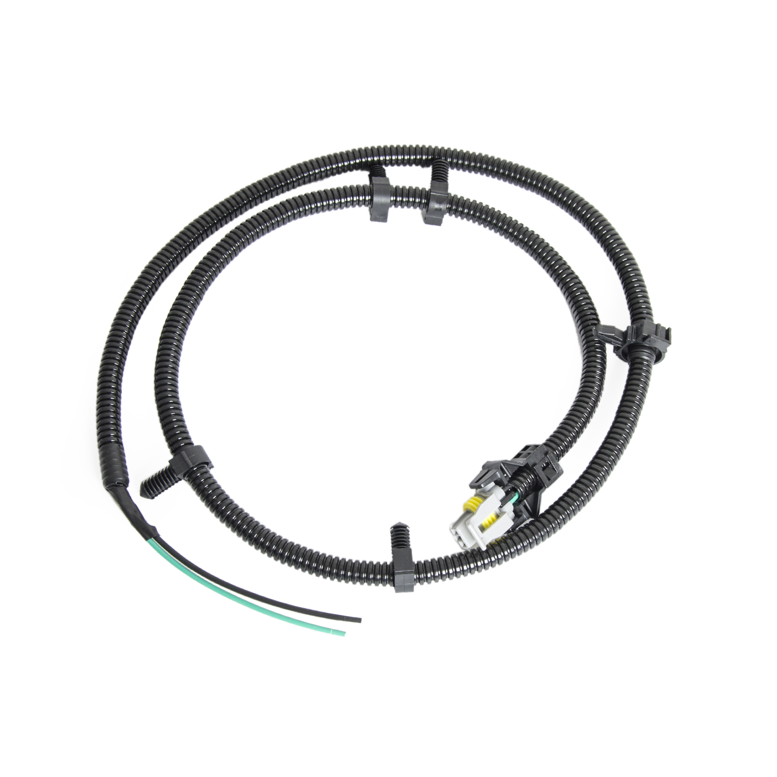 2pcs ABS Wheel Speed Sensor Wire Harness Plug Pigtail For
