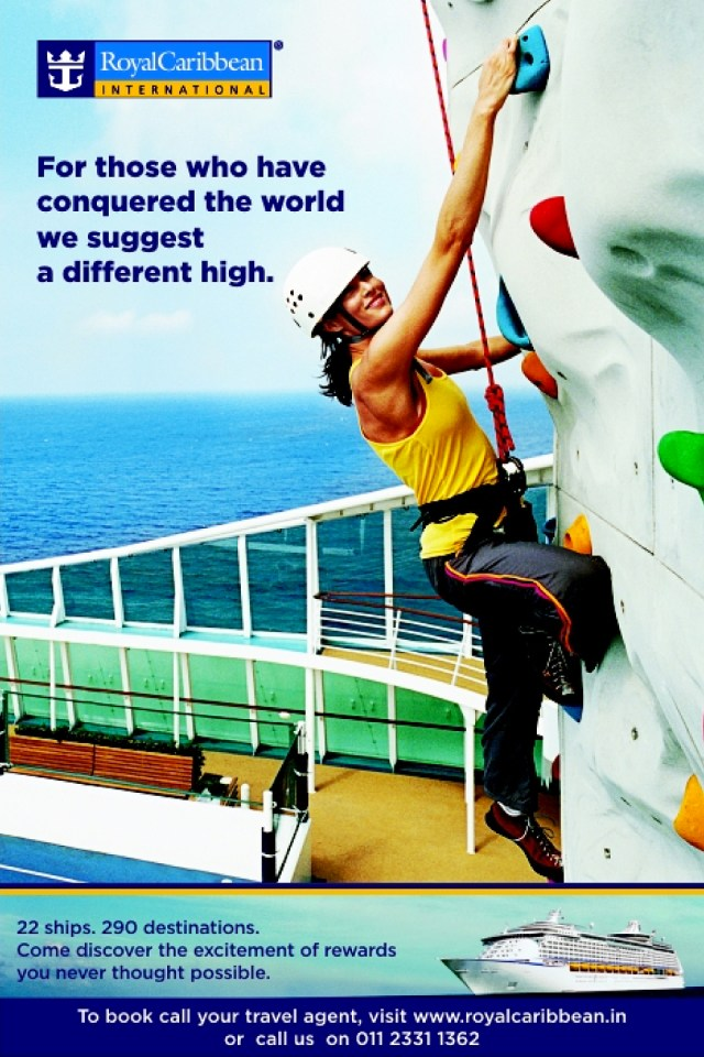 Get High - Royal Caribbean International Campaign Ad