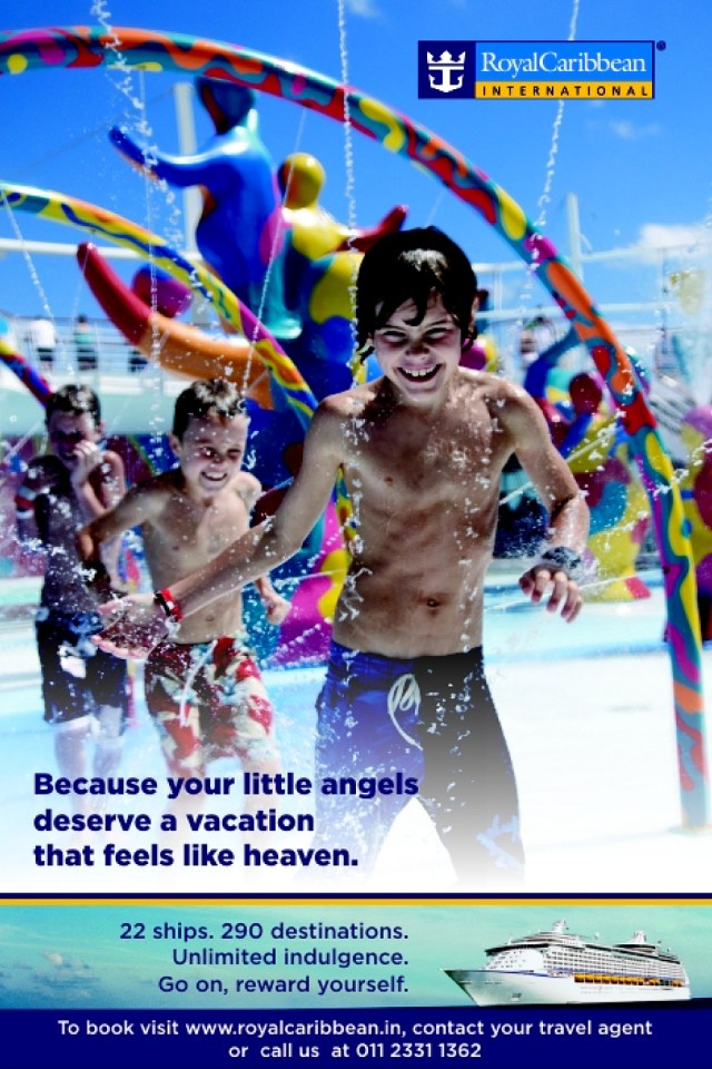 Little Angels - Royal Caribbean International Campaign Ad