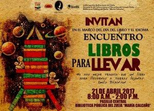 Maracaibo: «Libros para llevar» en la «María Calcaño»