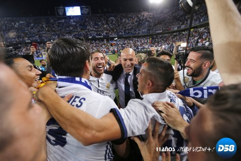LaLiga: Real Madrid conquista La Rosaleda y su trigésima tercera Liga