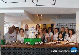 Fundación Barriguita Llena Corazón Contento celebró su primer aniversario