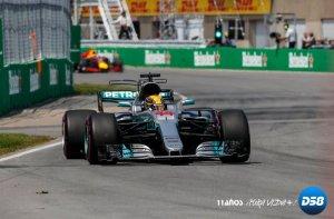 Hamilton gana el Gran Premio de Canadá