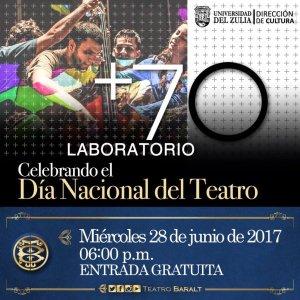 «+70 Laboratorio»: música, arte, teatro, danza y cine se combinan para celebrar Dia Nacional del Teatro