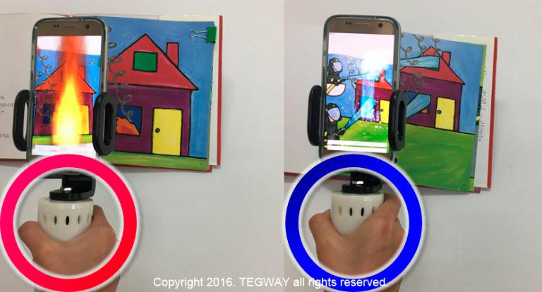 Resultado de imagen para TEGWAY presenta tecnología para sentir temperaturas en la Realidad Virtual
