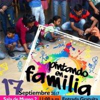 «Pintemos en Familia» en los Domingos Familiares del CAMLB