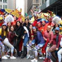 Venezolanos se lucen en el Desfile de la Hispanidad