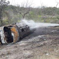 Aumentó a 13 los fallecidos por la deflagración del cisterna en Colombia