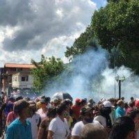 Alcaldía de Bruzual fue vandalizada durante protestas en Yaracuy