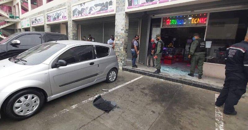Lanzaron artefacto explosivo contra un local en Ciudad Ojeda - Noticias Digital58 - septiembre 2020