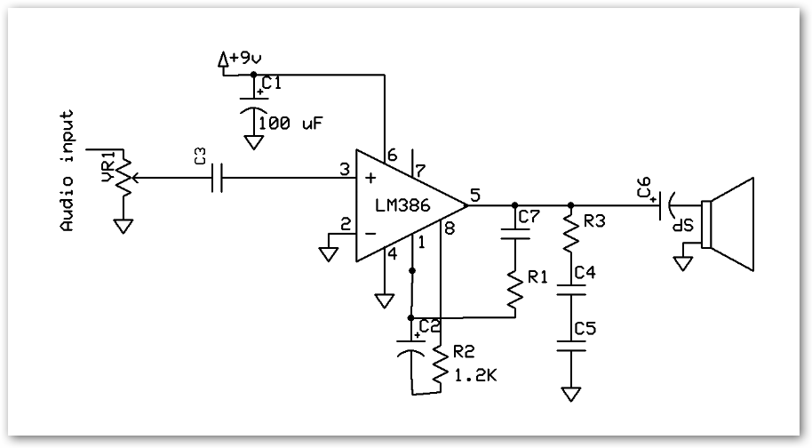 LM386Amplifier