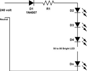 mains-powered-Led -multiple-led