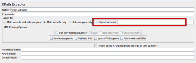 Xpathextractor-JMeter 2.9