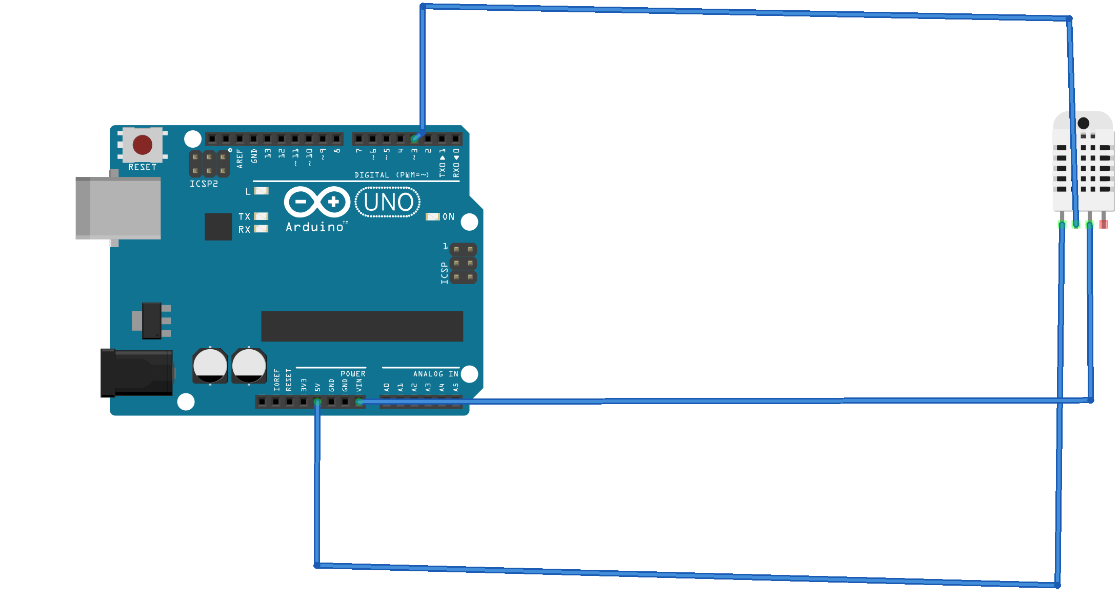 How to measure Humidity and Temperature using DHT22 and Arduino ...