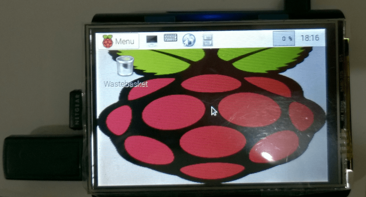 Raspberry Pi with 3.5 inch touch
