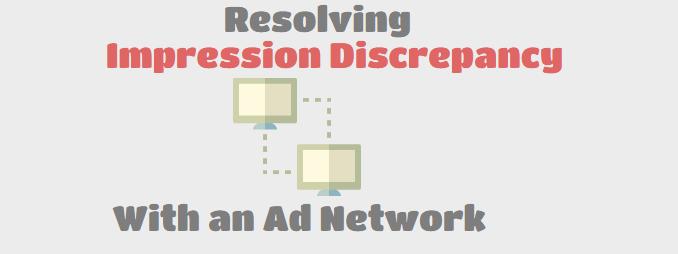 Resolving Impression Discrepancy 2
