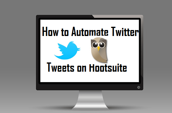 automate twitter tweets hootsuite