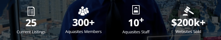 Aquasites Review Stats