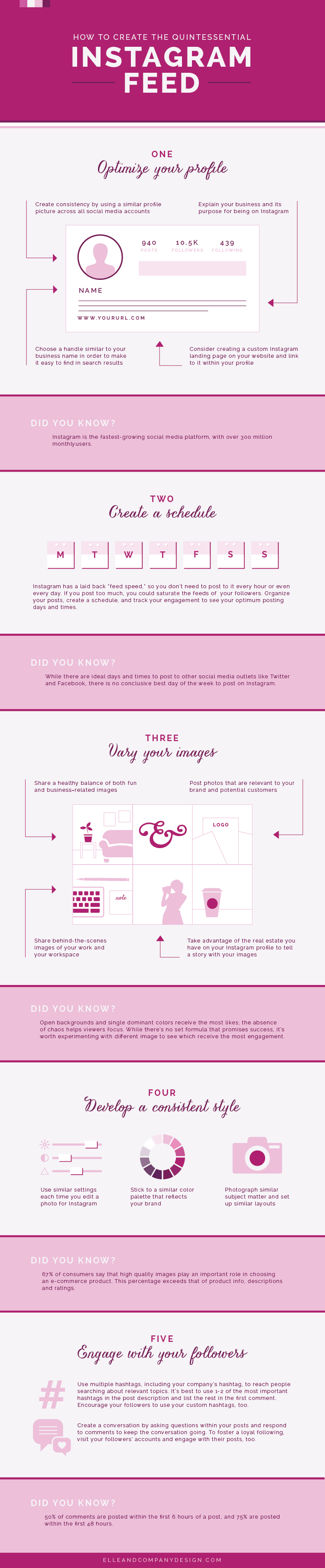 How to Create an Effective Instagram Feed