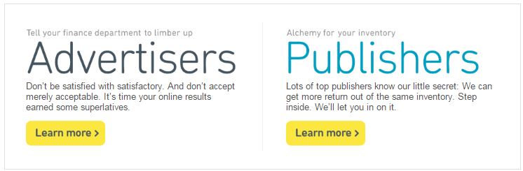 Aol Advertising for Advertisers and Publishers