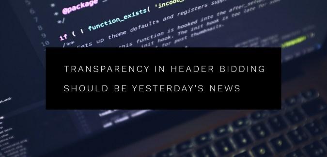 Transparency in Header Bidding tips