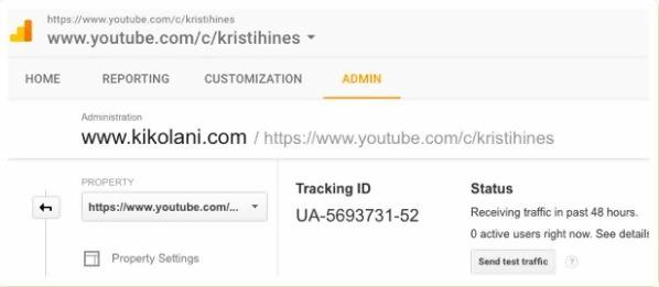 google analytics for youtube