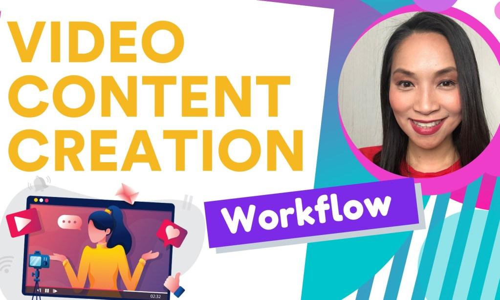 video marketing workflow