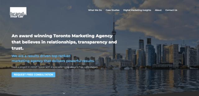 best real estate marketing agencies in Canada-brand-mortar