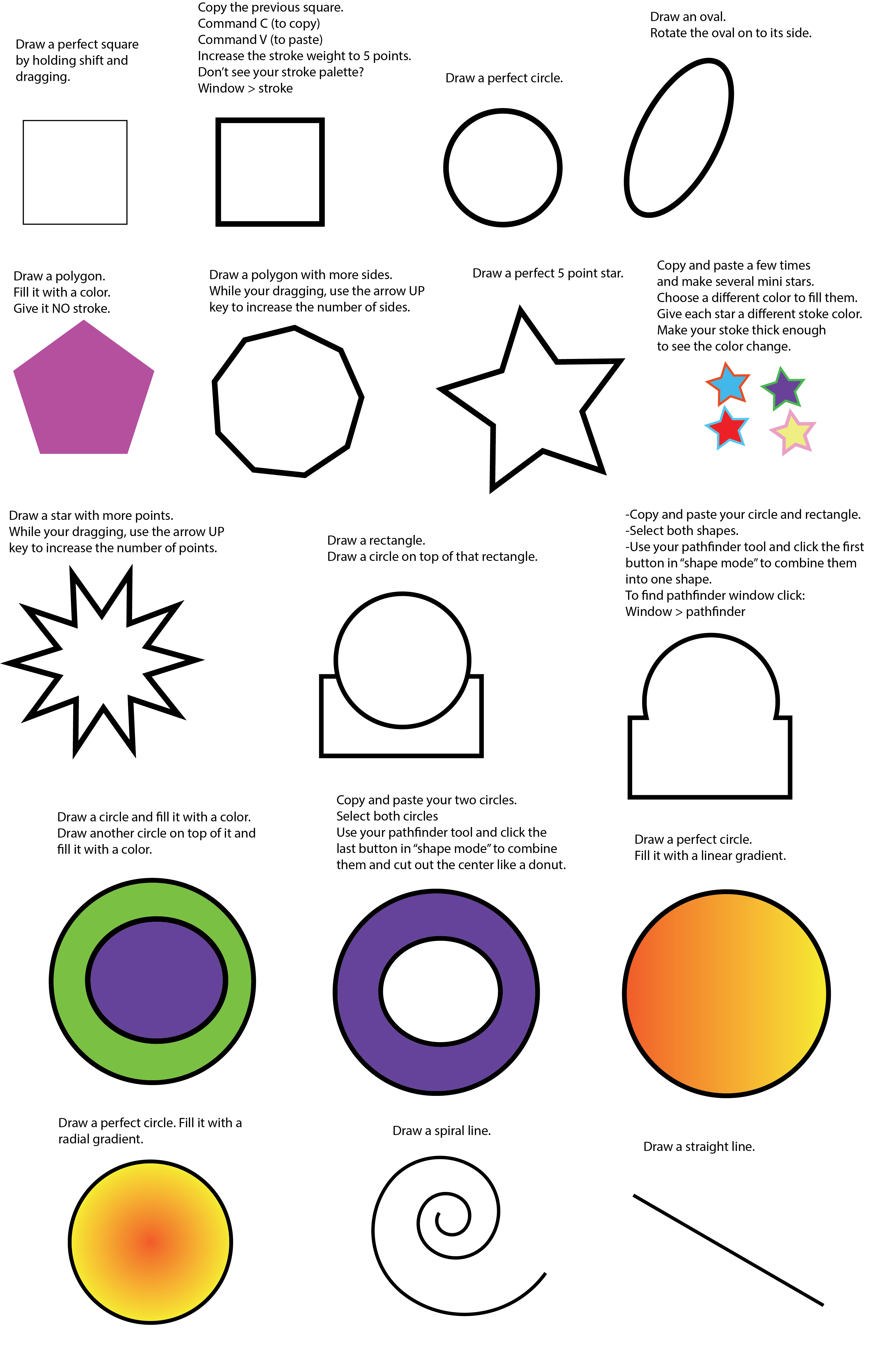 Shapes Practice Worksheet