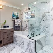 simple bathroom designs to refresh your