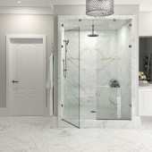 shower designs featuring large format