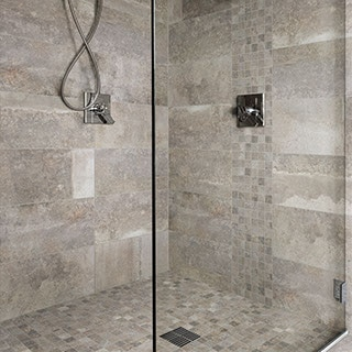 Using A Tile Shower Pan How To Create A Bold Trendy Shower Marazzi Usa