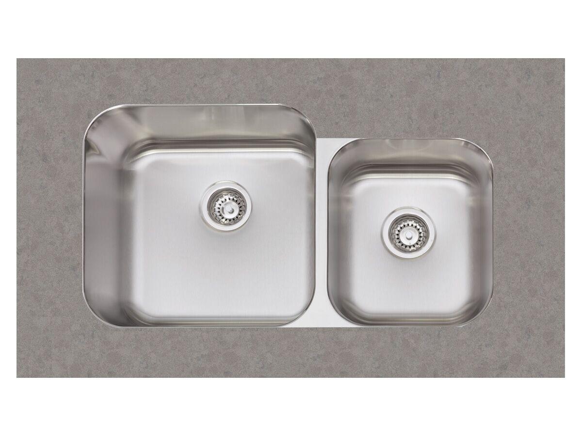 afa flow 1 3 4 bowl undermount sink no