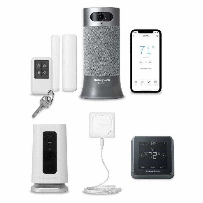 Super Smart Home Security Bundle Shop Now Honeywell Home