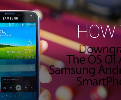 Downgrade Your Android Phone to a Previous Version
