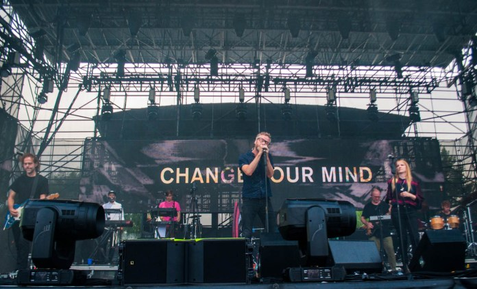 The National play to fans at The Lawn at White River State Park in Indianapolis, IN. || 06/26/19 || Photos by: ©Pix Meyers 2019