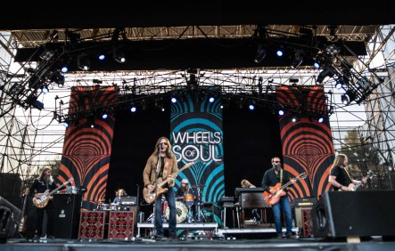 Blackberry Smoke was the 2nd act up on the Wheels of Soul tour 2019! | The Lawn at White River State Park | Indianapolis, IN. | Photos by: ©Pix Meyers 2019