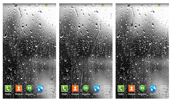 Aplikasi Raindrops Live Wallpaper HD 8
