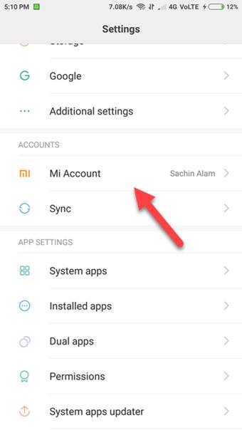 Cara Menghapus Akun Mi di HP Xiaomi & Mi Cloud   Gadgetren