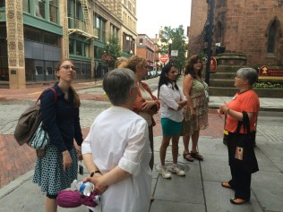 walking tour of downtown Providence
